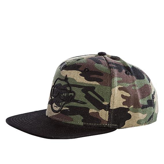 7a0b9079eed URBAN MONKEY Camouflage Adjustable Baseball Snapback Free Size Unisex Hip  Hop Cap