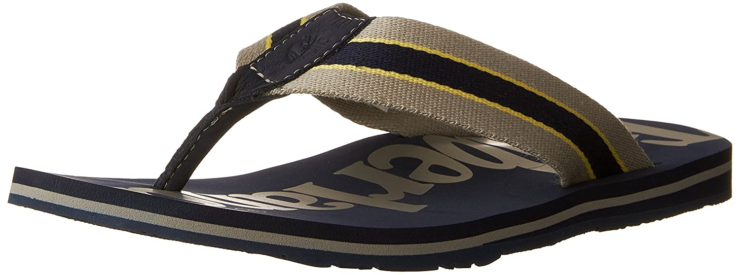 9a4a6f4faa01 Timberland Men s s Wild Dunes Fabic and Leather Flip Flops  Amazon.co.uk   Shoes   Bags