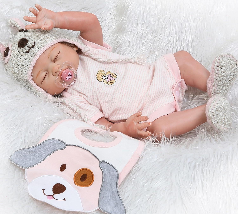e8ce43383a4f Amazon.com: NPK Reborn Baby Dolls Girl 20