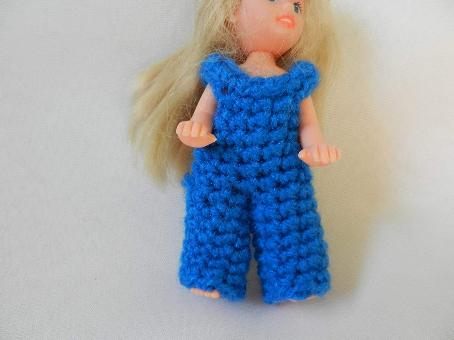 Blue Overalls fit Baby Kelly from the Barbie family and other 5 inch dolls