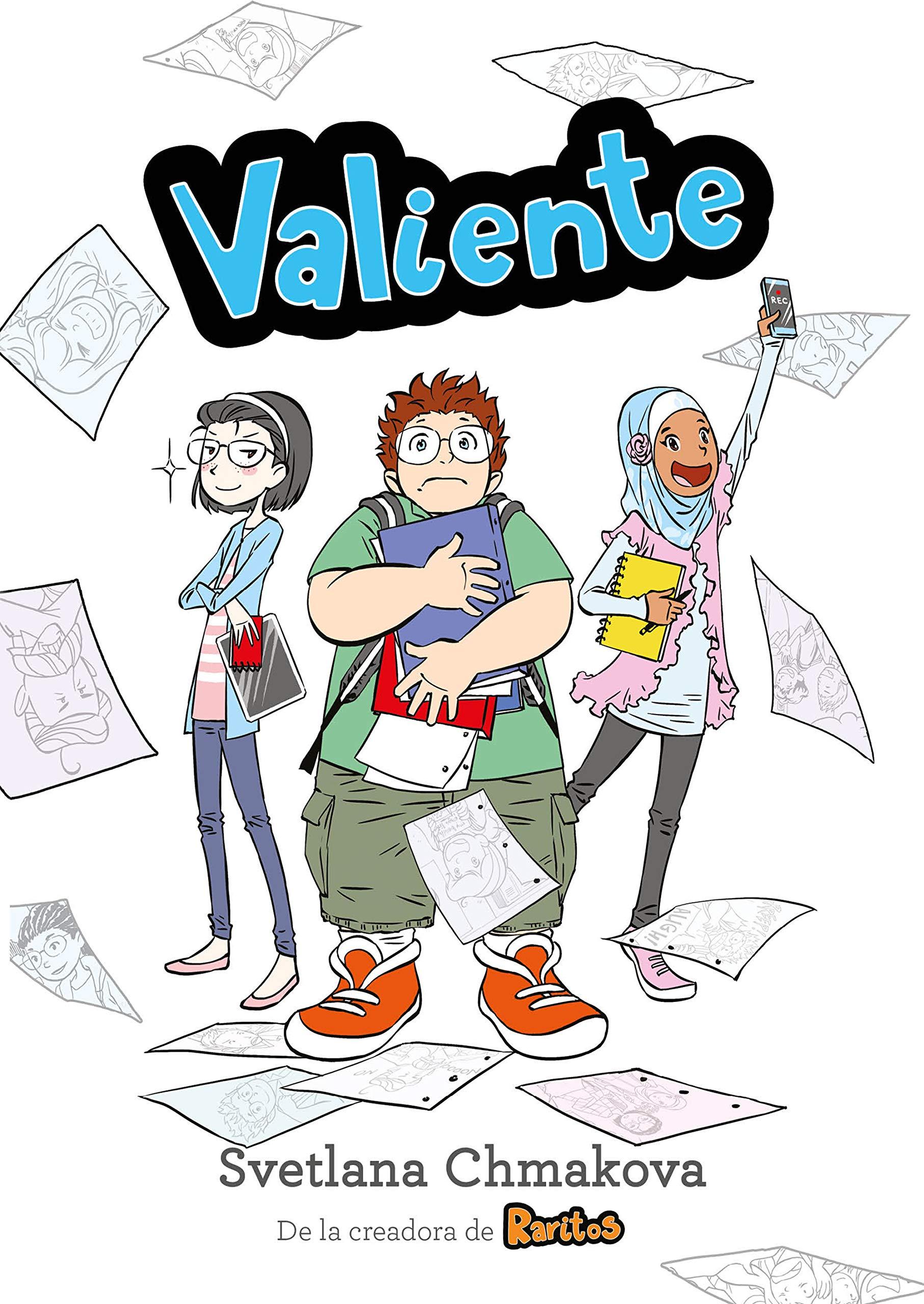 Valiente (Raritos 2) (Spanish Edition): Chmakova, Svetlana: 9788417460273:  Amazon.com: Books