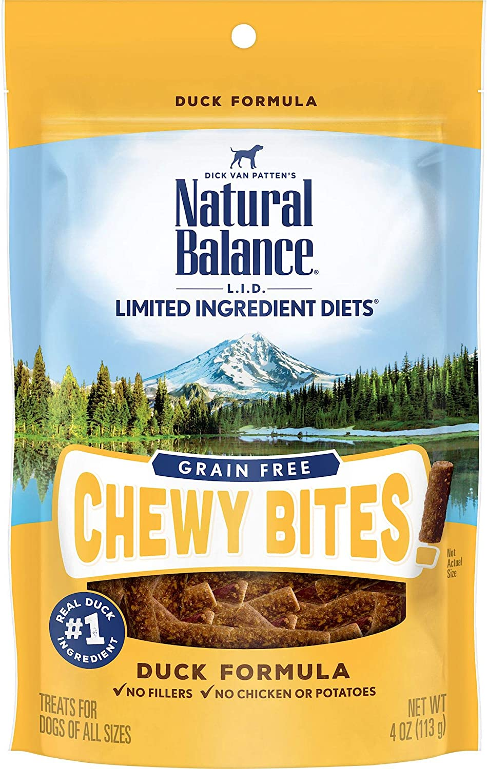 Natural Balance L.I.D. Limited Ingredient Diets Dog Treats, Grain Free