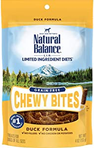 Natural Balance L.I.D. Limited Ingredient Diets Dog Treats, Grain Free