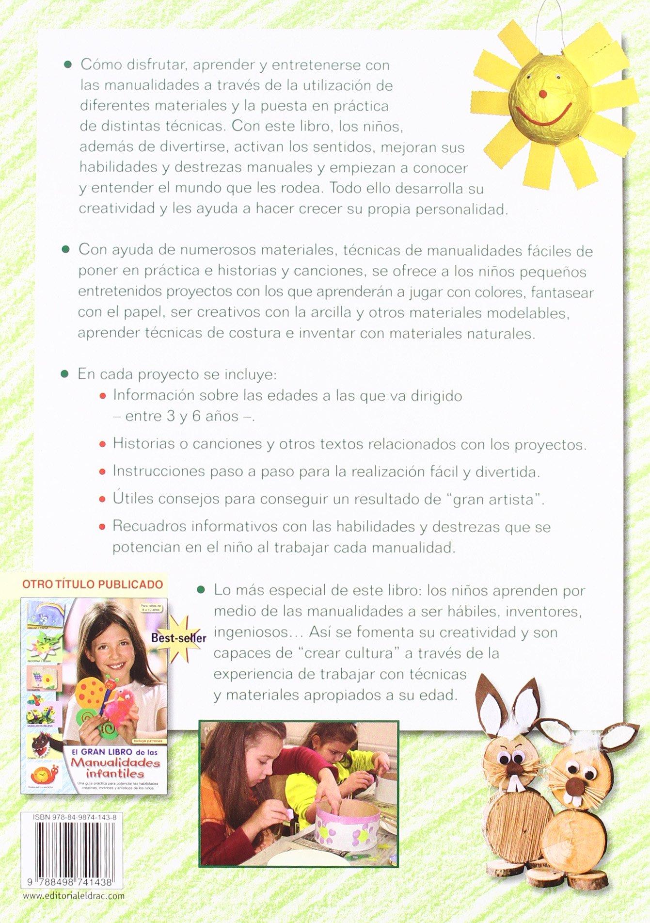 El Gran Libro De Las Manualidades Para Ninos De 3 A 6 Anos Amazon