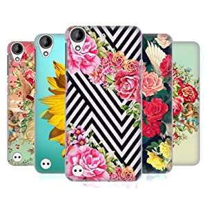 Official Mark Ashkenazi Florals Hard Back Case for HTC Desire 530