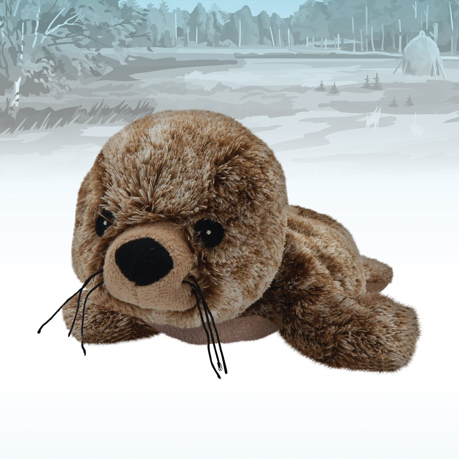 Amazon.com: T-Tex Warmies Peluche Termico Foca Estraibile: Health & Personal Care