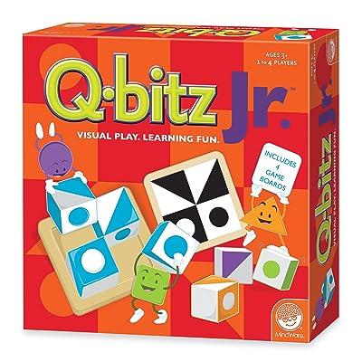 MindWare CSG-QBITZ_Junior Logic & Strategy Game: Toys & Games