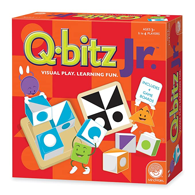 Amazon Mindware Q Bitz Jr Toys Games
