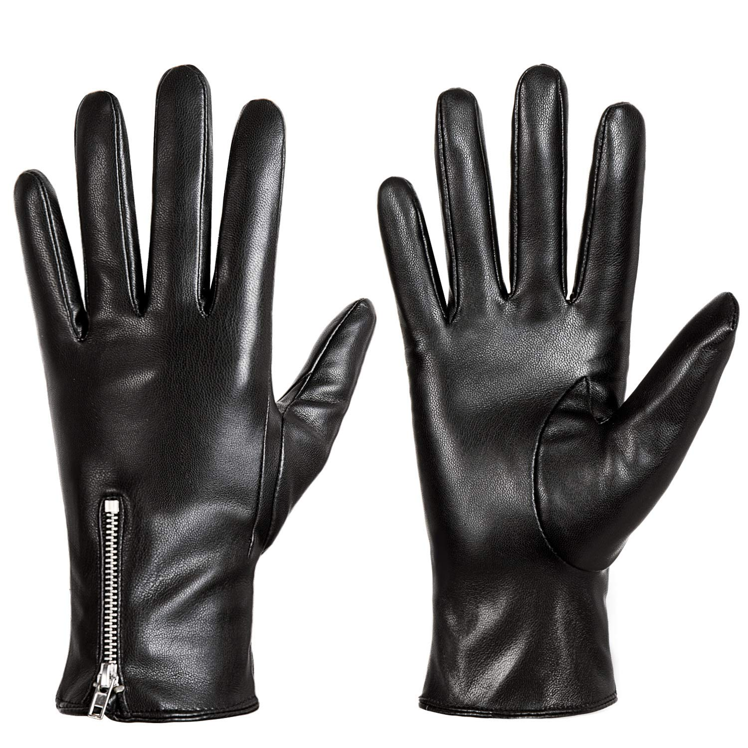 Winter Leather Gloves for Women, Touchscreen Texting Warm Driving Gloves by Dsane by Dsane
