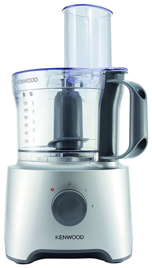 Kenwood FDP302SI MultiPro Compact Robot da Cucina, 800 W, 2.1 Litri, Argento