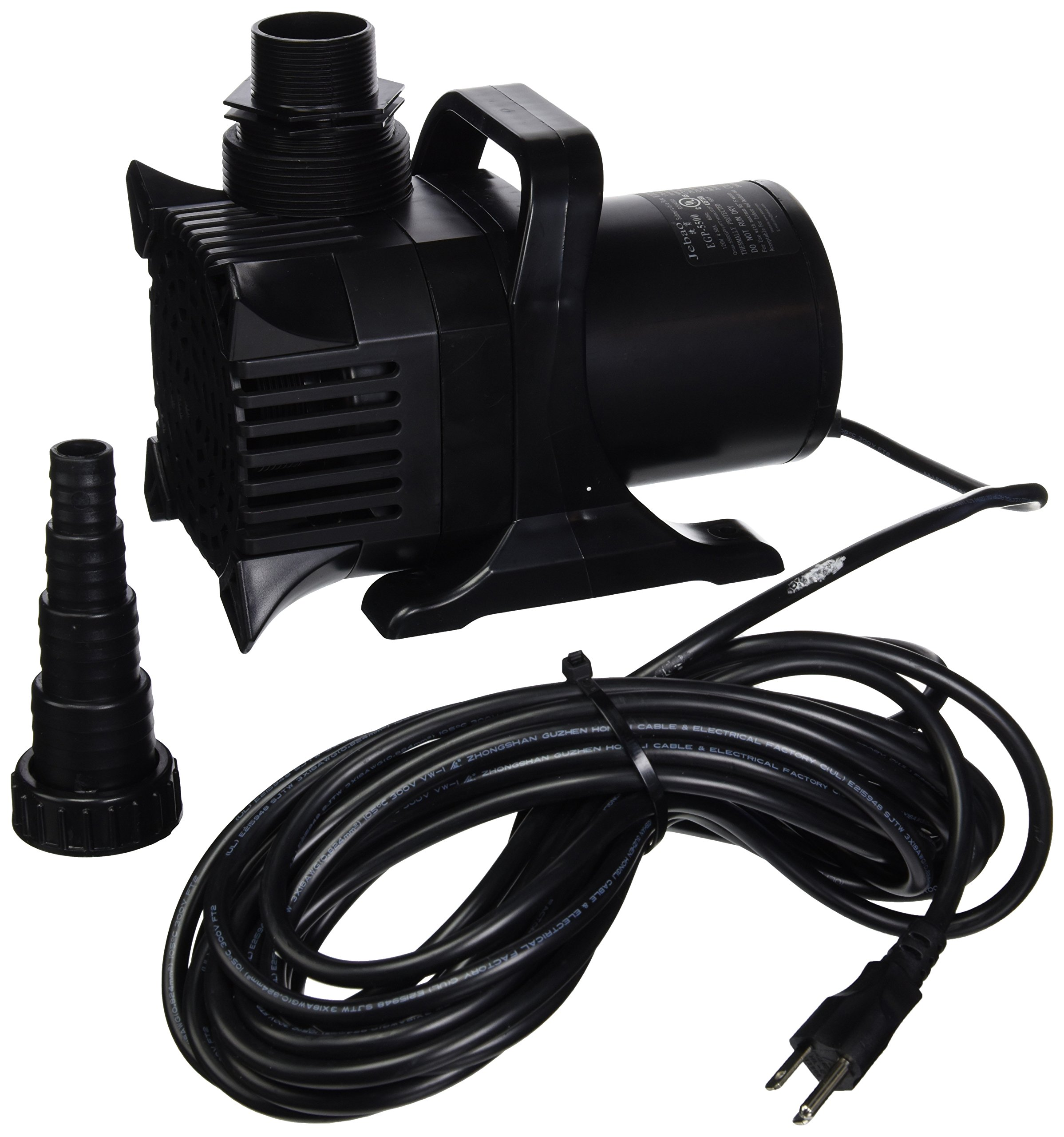 Algreen MaxFlo 20000 to 5500 GPH Pond and Waterfall Pump for Gardening by Algreen