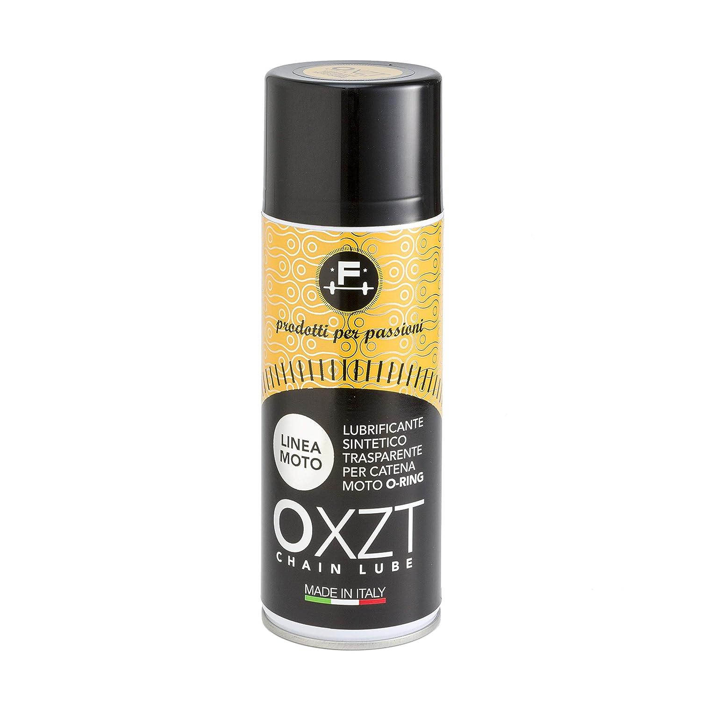 PRODOTTI PER PASSIONI  OXZT lubrificante sintetico per catena moto o-ring alte prestazioni 400ml ROS SRL