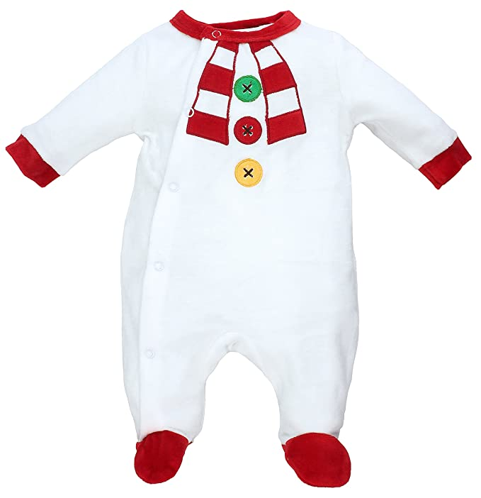 ef7aad25f61c9 Rock a Bye Baby - Dors bien grenouillère pyjama bébé en velours - Noël