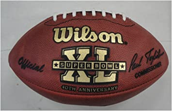 Amazon Com Official Superbowl Xl Nfl Football From The Tonight Show