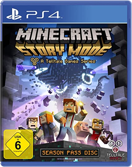 Telltale Games Minecraft Story Mode, PS4 vídeo - Juego (PS4 ...