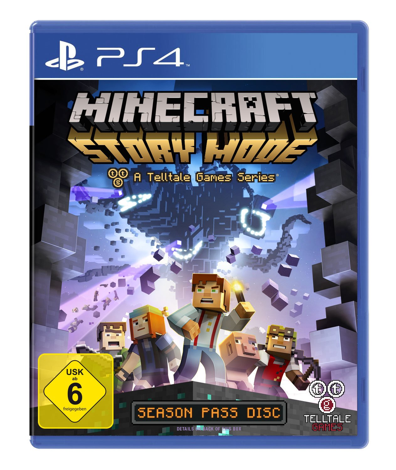 Minecraft Story Mode A Telltale Games Series German Version - Minecraft explore spiele