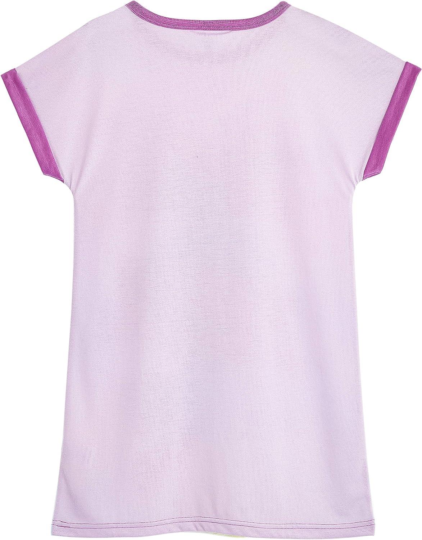 Official World Tour Girls PJs Short Sleeve Night Dress Trolls Girls Pyjamas Kids Pyjamas with Poppy Print Nightwear Gifts for Girls Teenagers Age 3-12 Years