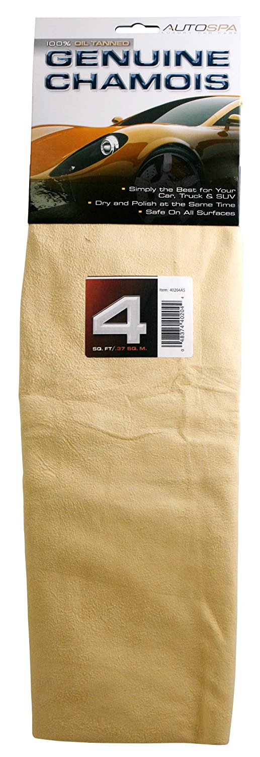 Carrand 40204AS Genuine Full Skin Chamois - 4 sq ft