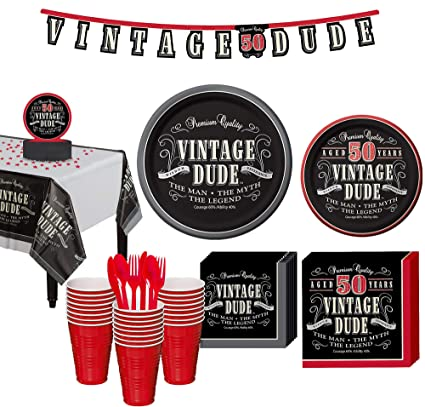 Image Unavailable Not Available For Color Party City Vintage Dude 50th Birthday