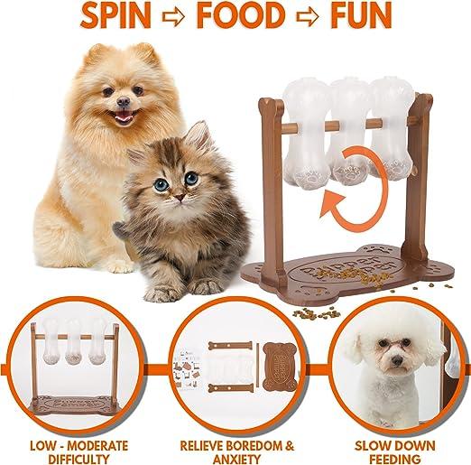 Juguete interactivo para perro con rompecabezas de comida ...