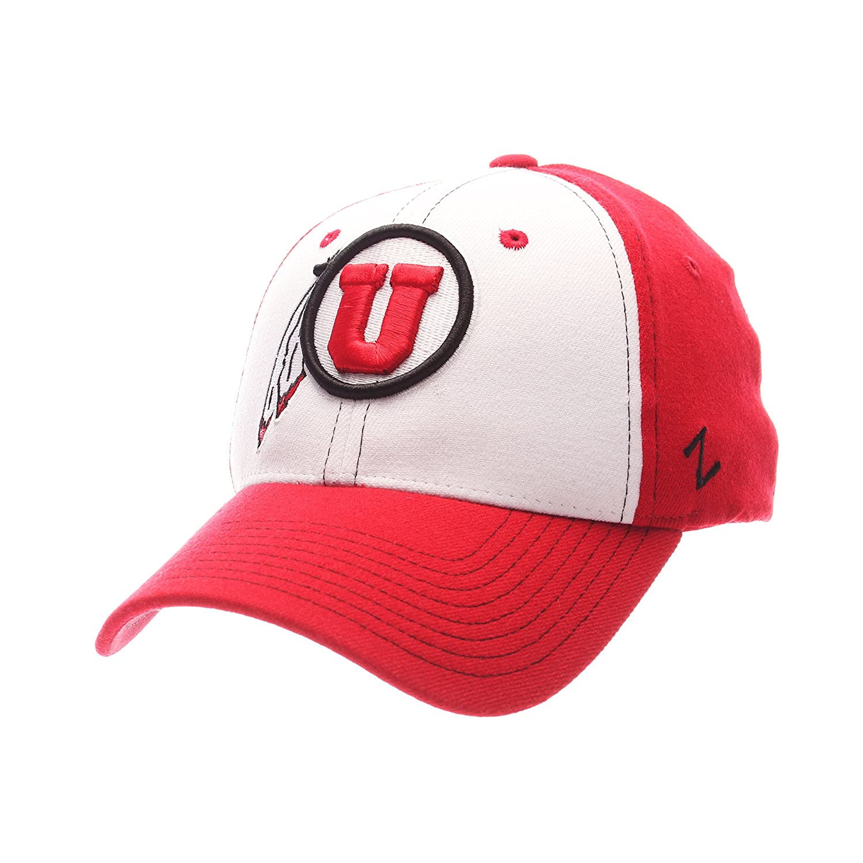NCAA Zephyr Illinois Illini Mens Bleacher Z-Fit Hat White//Tc Medium//Large
