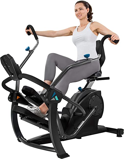 side facing teeter freestep elliptical