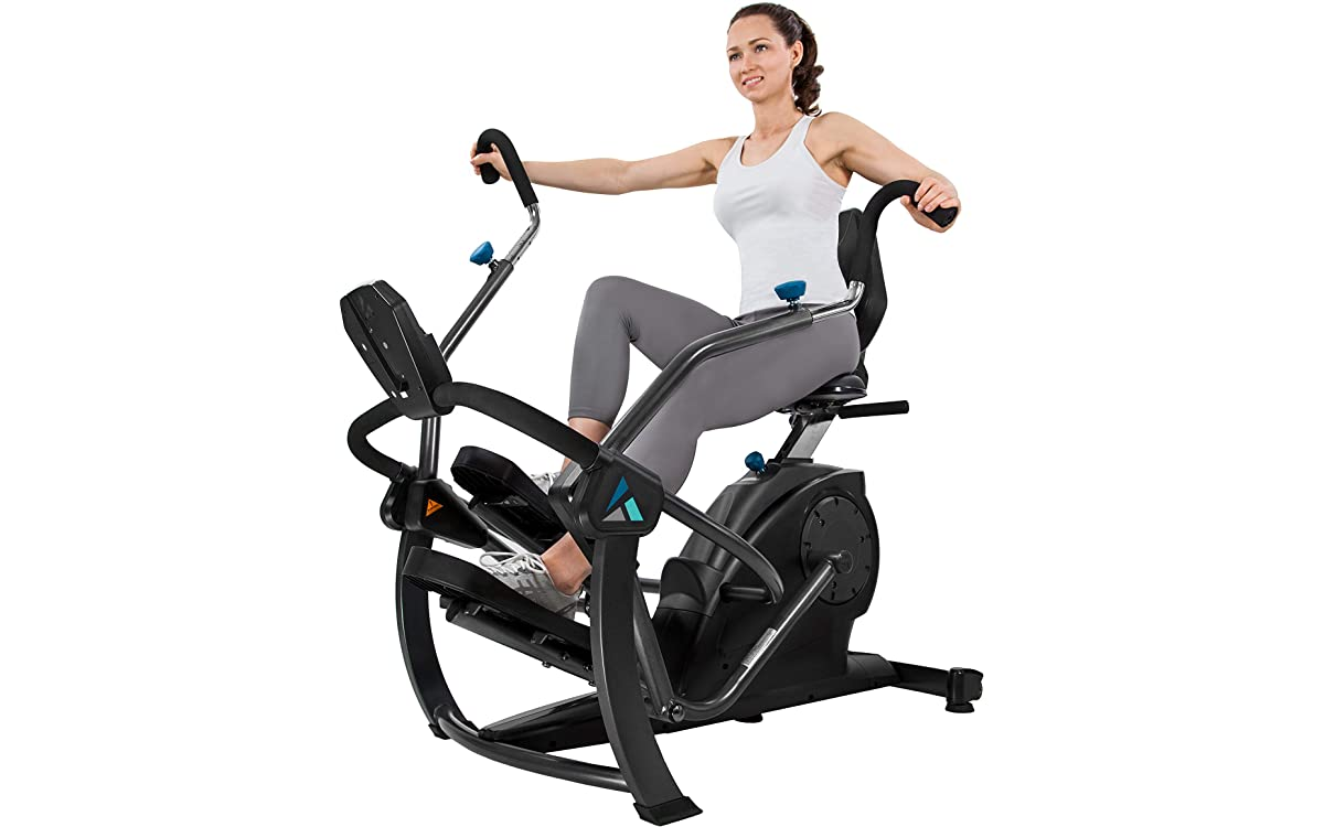 recumbent bike with arm motion