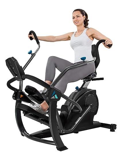 ead09289d85 Amazon.com   Teeter FreeStep Recumbent Cross Trainer and Elliptical    Sports   Outdoors