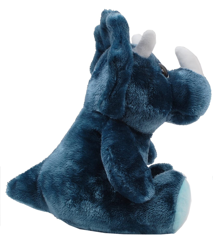 Linzy Plush Triceratops Plush Animal L-70326 9 9 Great Eastern Entertainment Inc