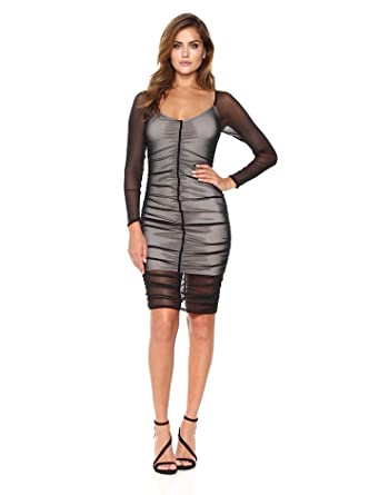 Long sleeve black cocktail dress cheap