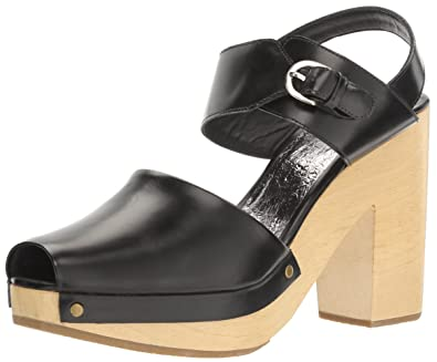 Rachel Comey Women's Doyah Mule, Black-Blonde, ...