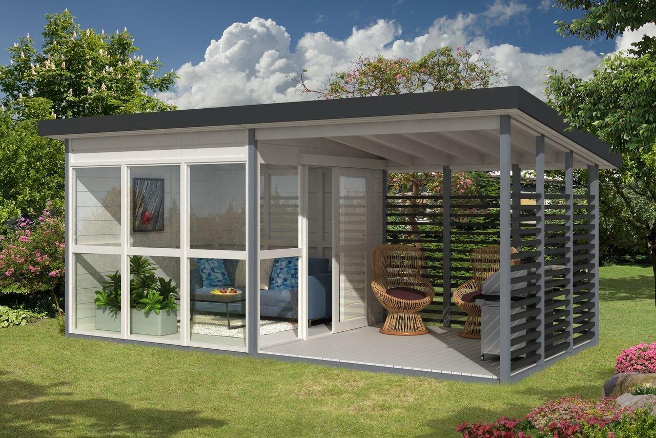 Allwood Solvalla | 172 SQF Studio Cabin Kit, Garden House