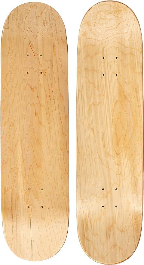 Natural Moose Blank Skateboard Deck