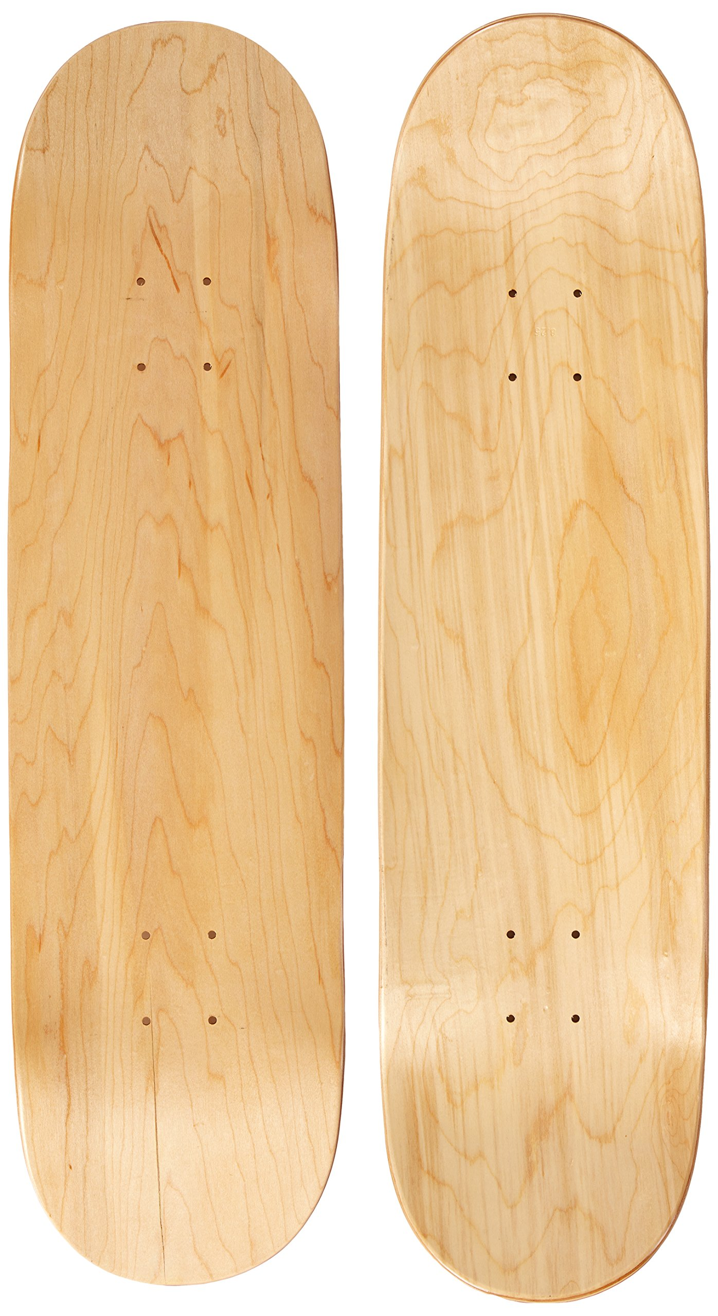 Moose Blank 8.25'' Skateboard Deck (Natural)