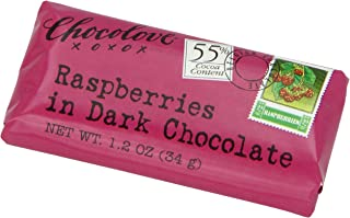 product image for Chocolove Raspberry Dark Chocolate, 1.2-Ounces (Pack of 12)