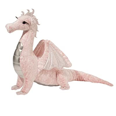 Douglas Shreya Pink Dragon Plush Stuffed Animal: Toys & Games