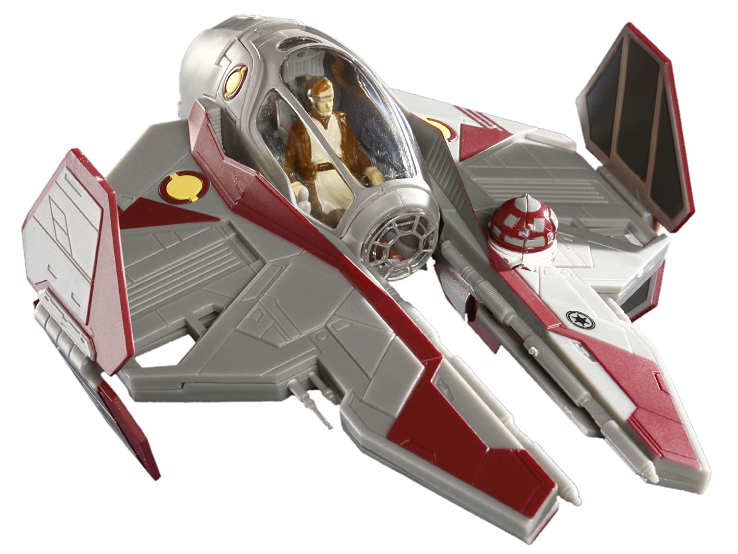 Revell - Maqueta EasyKit Pocket Star Wars ObiWans Jedi Starfighter, Escala 1:58 (06721)