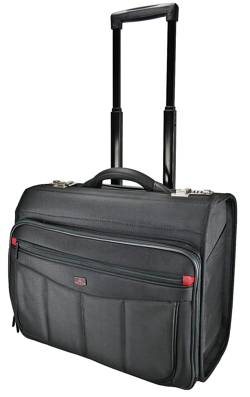 Business Trolley Laptop Tasche Pilotenkoffer Boardcase 261.113.01