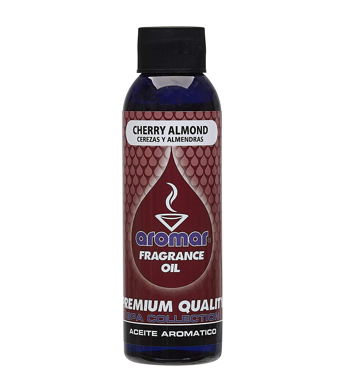 Aromar Fragrance Oil 4 Ounce Cherry Almond Aromatherapy Essential Oil Scented Oil Scent Oil