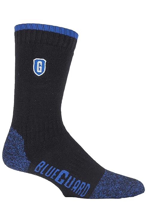 Blueguard - 1 par calcetines trabajo hombre controlar de humedad muy durable toda la vida en 2 colores y 4 tamaños: Amazon.es: Ropa y accesorios