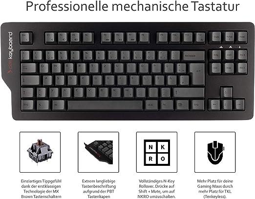 Das Keyboard 4c Tkl Mechanische Tastatur Mini Gaming Computer Zubehör