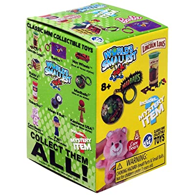 Worlds Smallest Classic Novelty Toy Series 2 Blind Box, 1Count: Toys & Games
