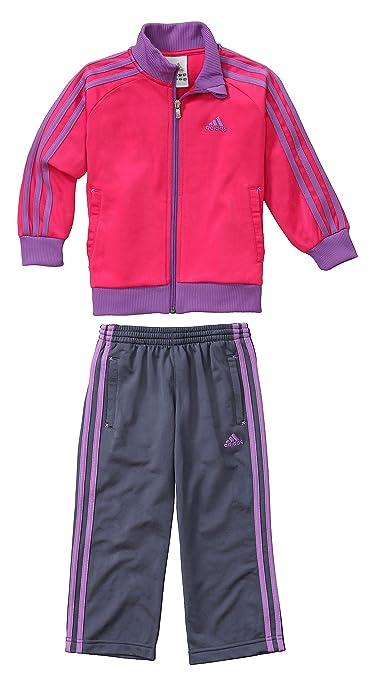 Chandal Adidas LK E KNPES TS Rosa/Violeta 116 cm(6 años) Rosa ...