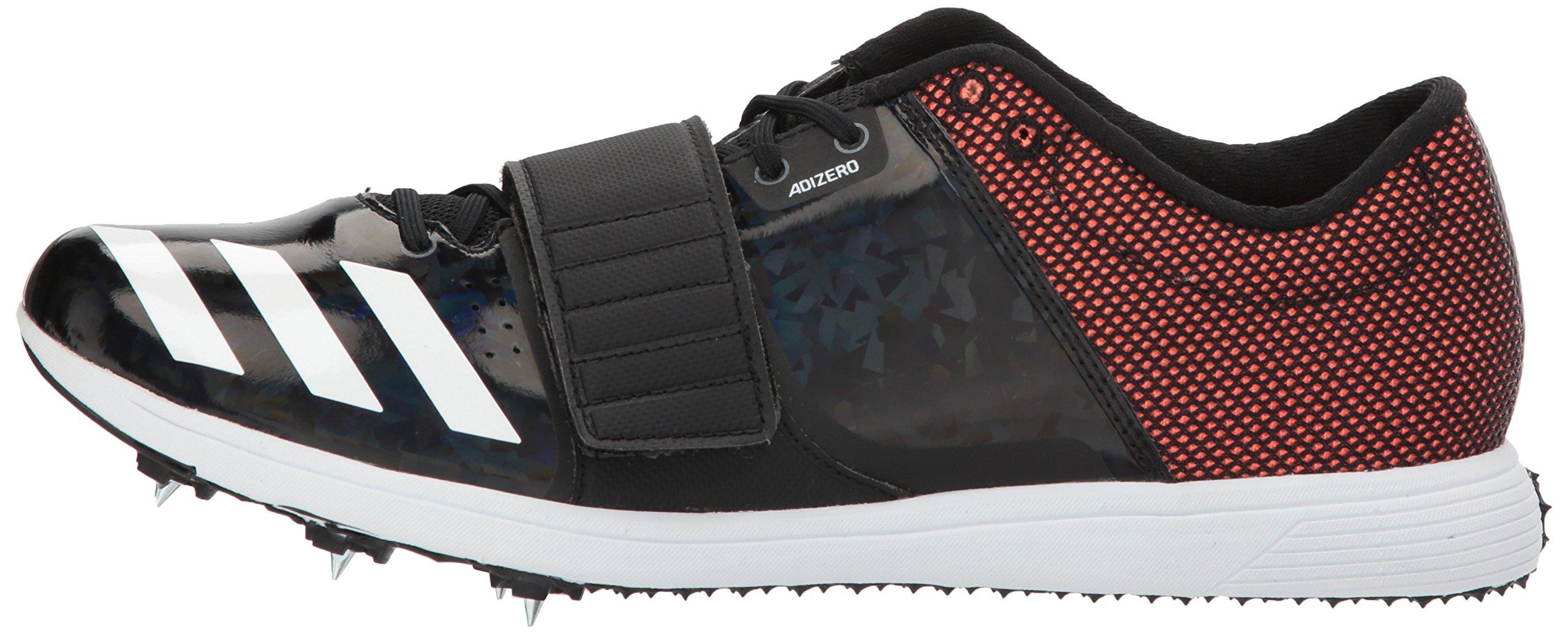 adidas Adizero tj/pv Running Shoe core Black, FTWR White, Orange 13.5 M US by adidas (Image #5)