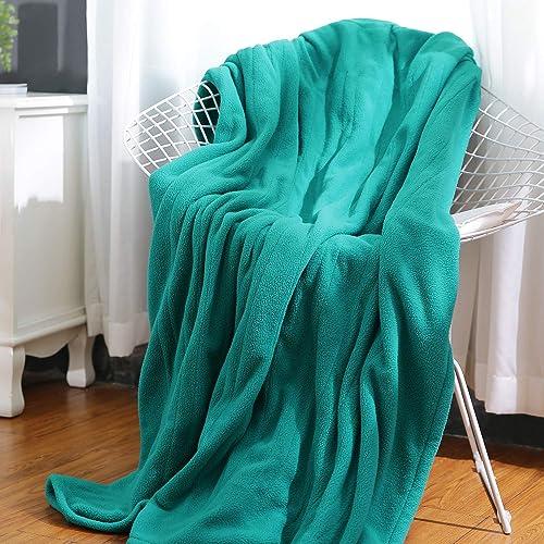 MaxKare Electric Heated Throw Blanket Polar Fleece 50'' x 60'' Lightweight Cozy Ultra-Warm Premium Microfiber Snap Lap Blanket