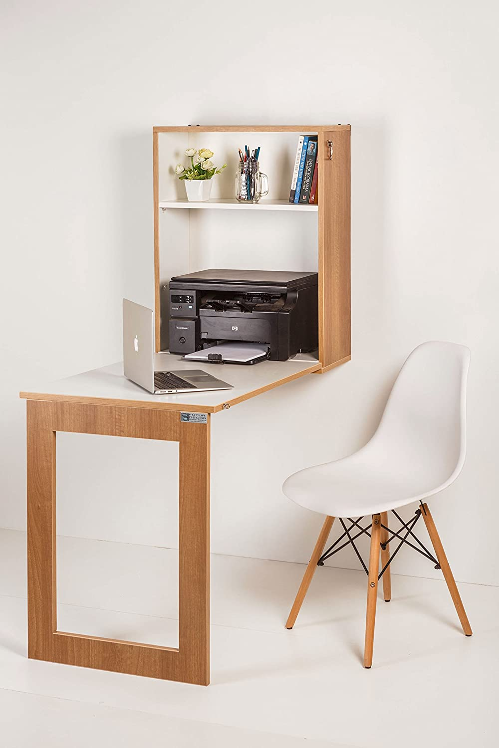 shipping monitor today home free desk work computer pc product office printer furniture overstock garden walnut shelf costway station
