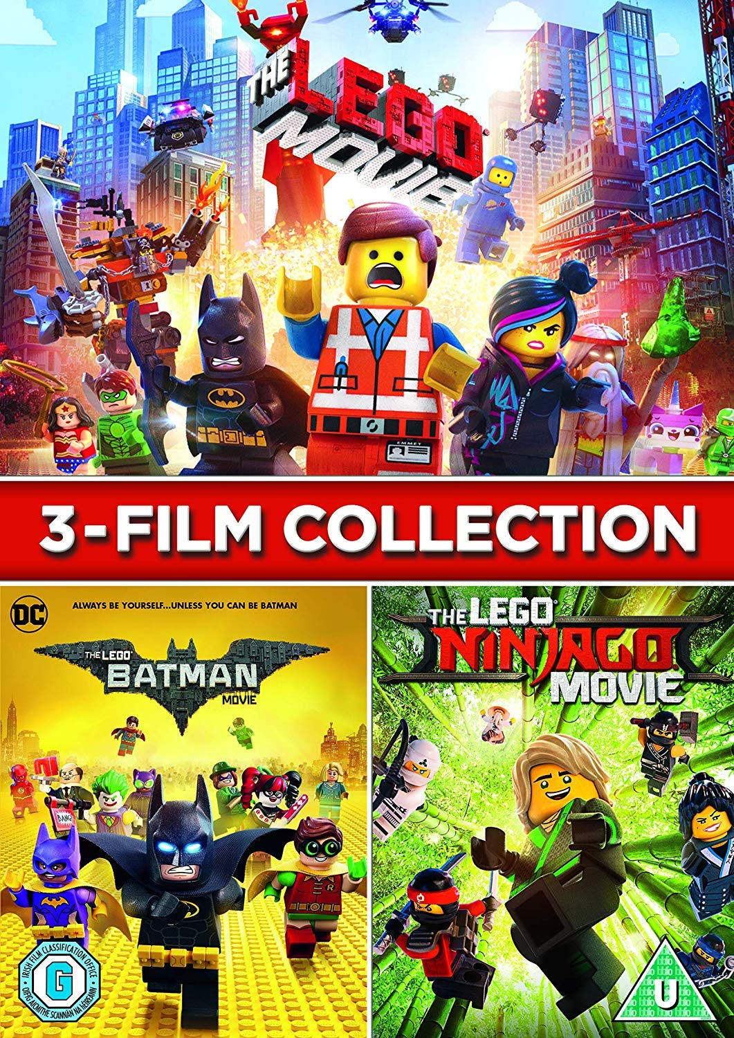 Amazon Com Lego 3 Film Collection Dvd 2018 Movies Tv