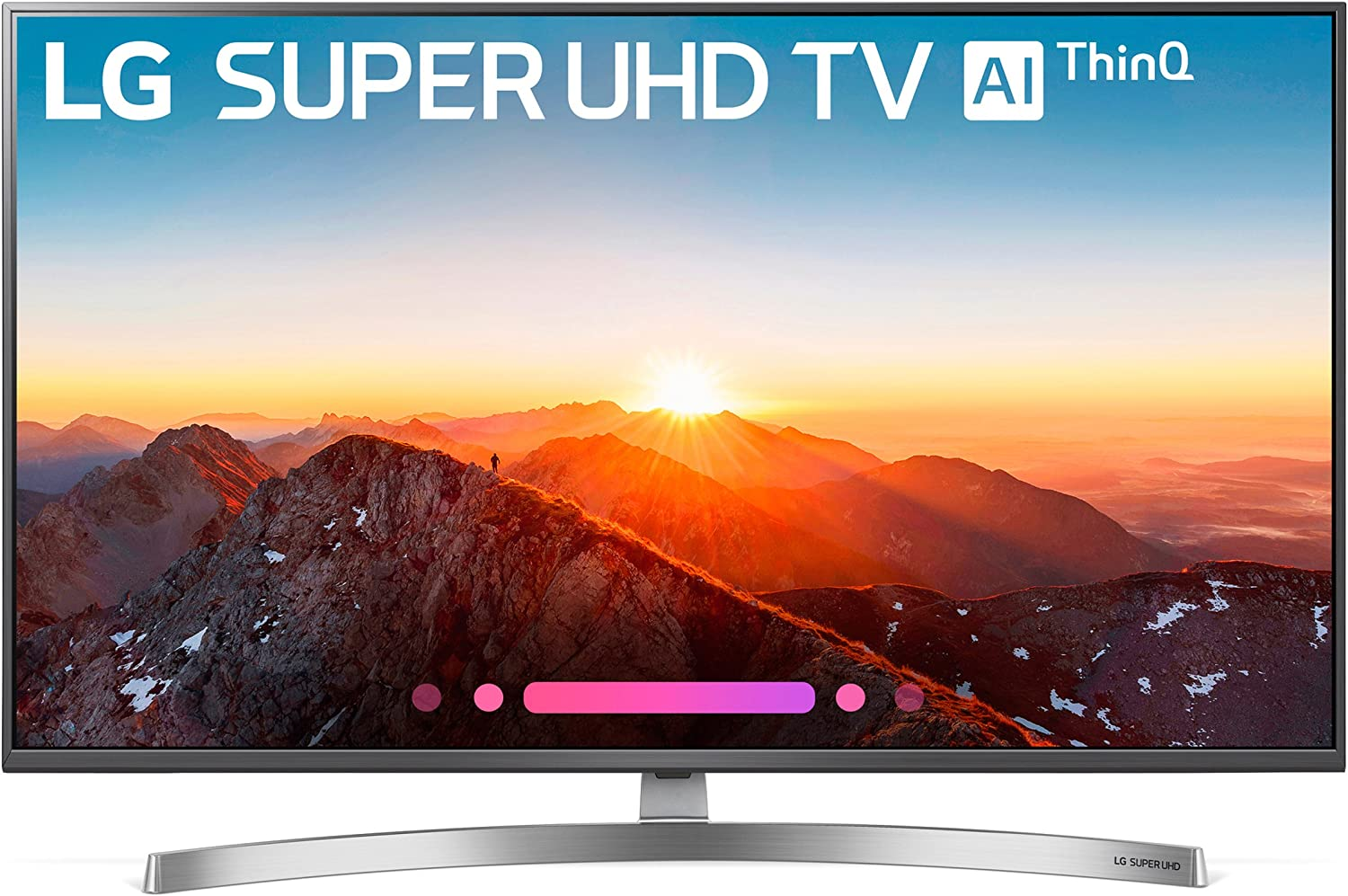 LG Electronics 55SK8000PUA 55-Inch 4K Ultra HD Smart LED TV (2018 Model)