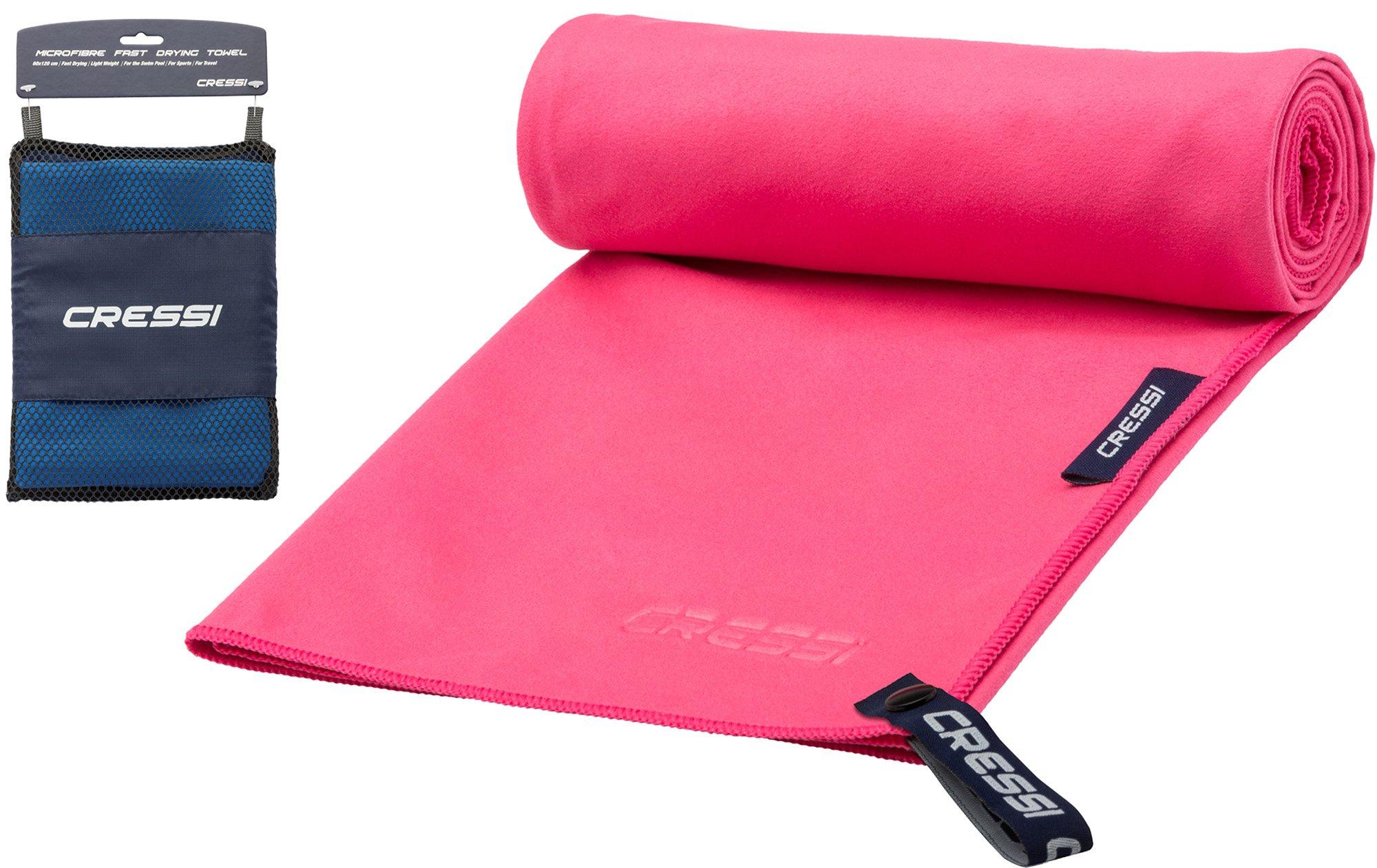 Cressi Microfibre Fast Drying Toalla de Sport, Unisex Adulto, Rojo, 30x50cm product image