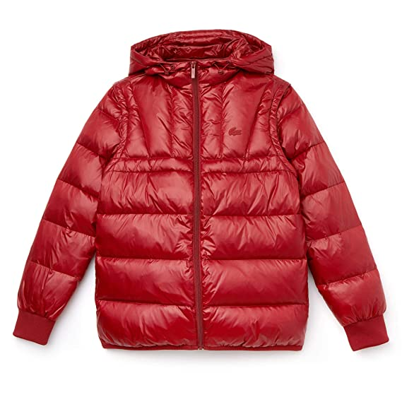 32a2b5d2d Lacoste - Women s Jacket - BF8885  Amazon.co.uk  Clothing